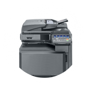 Image of a printer representing the Managed Print Services in London (MPS) offered by ASL, a company offering managed print solutions in London and UK.