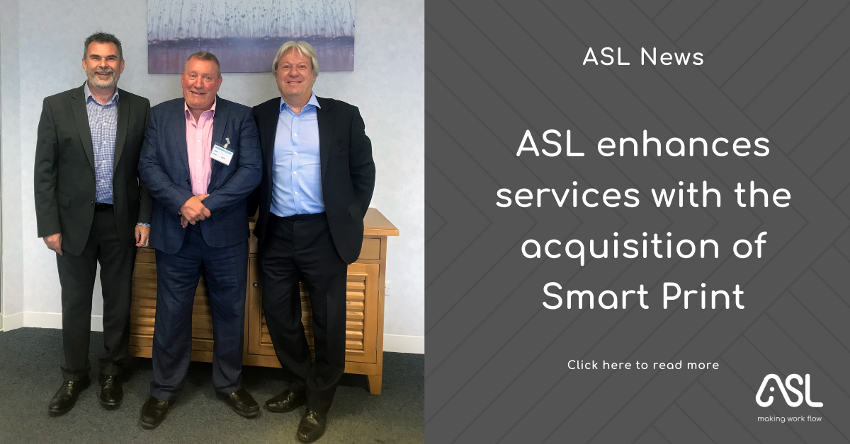 ASL Group enhances services with the acquisition of Smart Print
