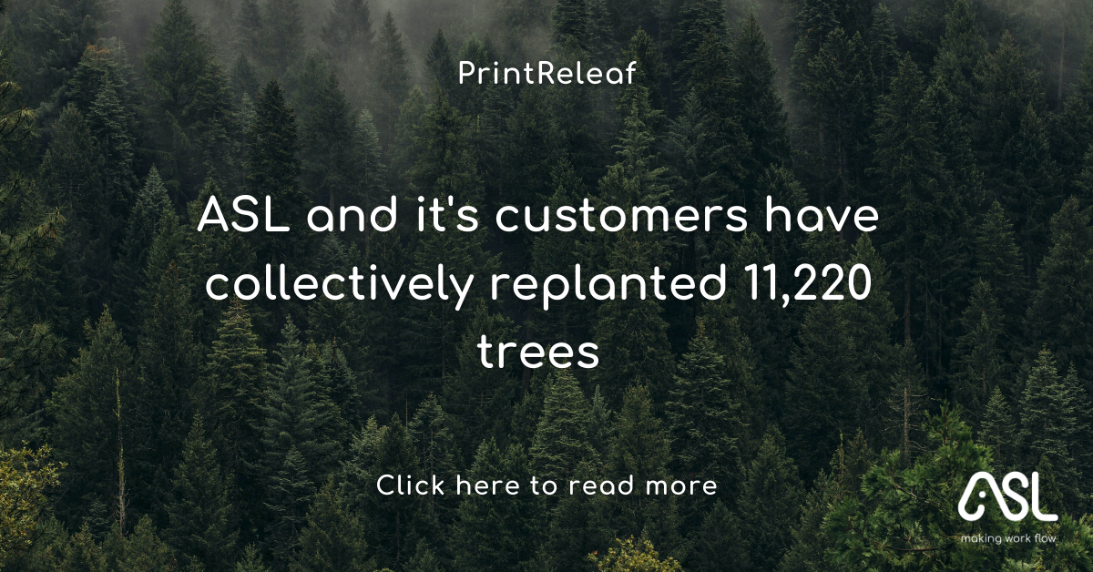 ASL and it's customers have collectively replanted 11,220 trees