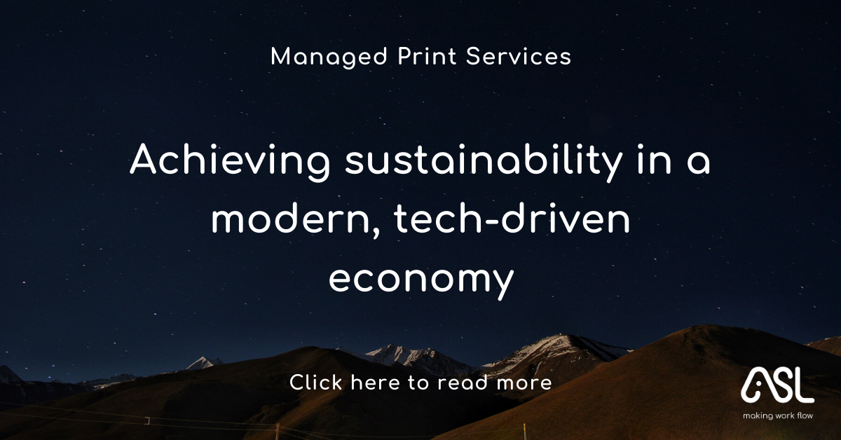 Achieving sustainability in a modern, tech-driven economy