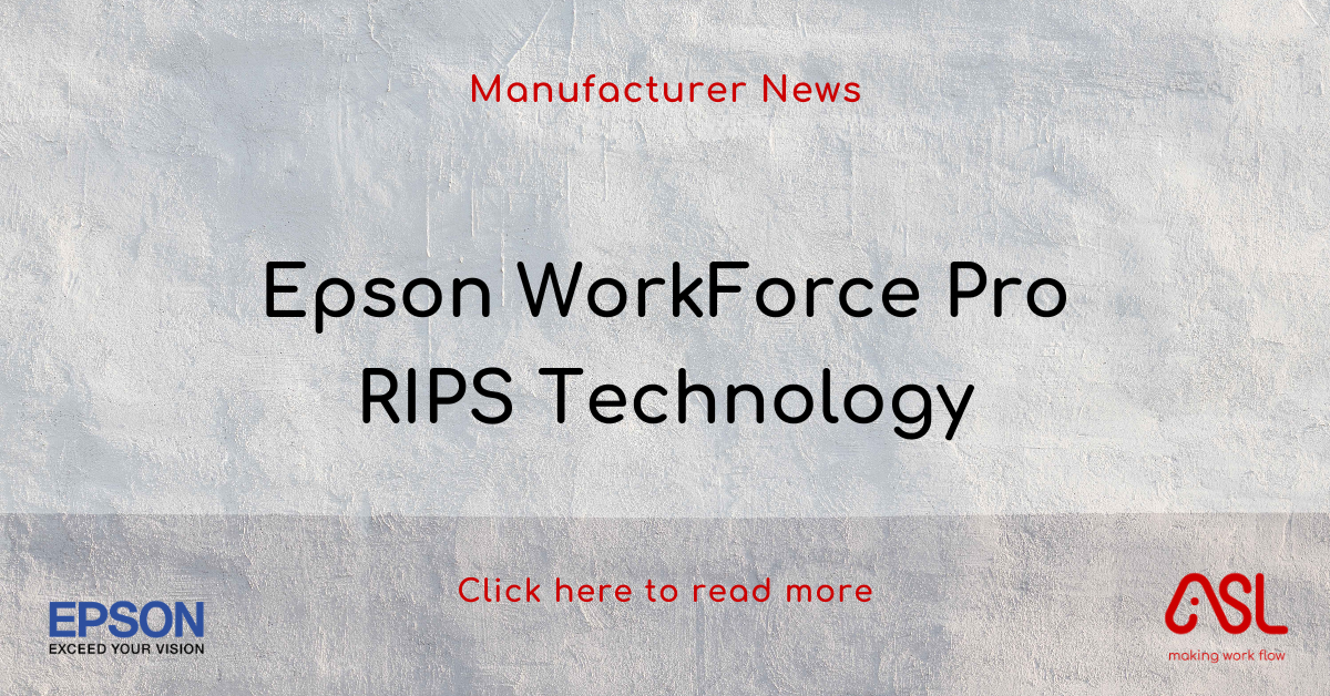 Epson WorkForce Pro RIPS Technology