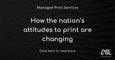 How the nation's attitudes to print are changing