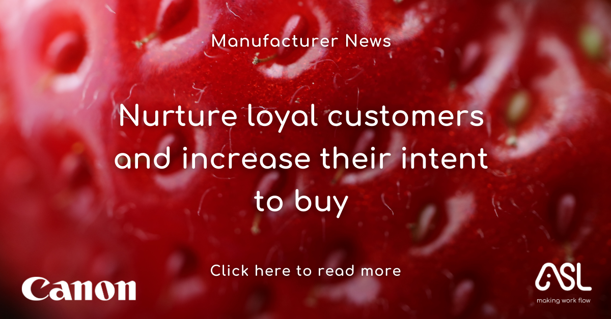 Nurture loyal customers and increase their intent to buy