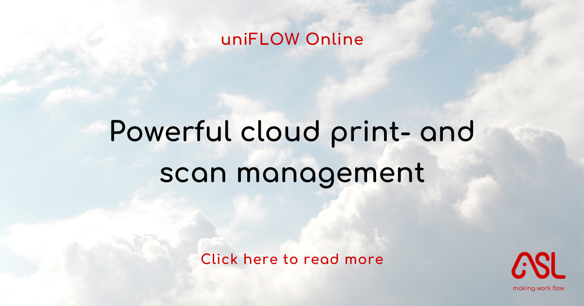 Powerful cloud print- and scan management