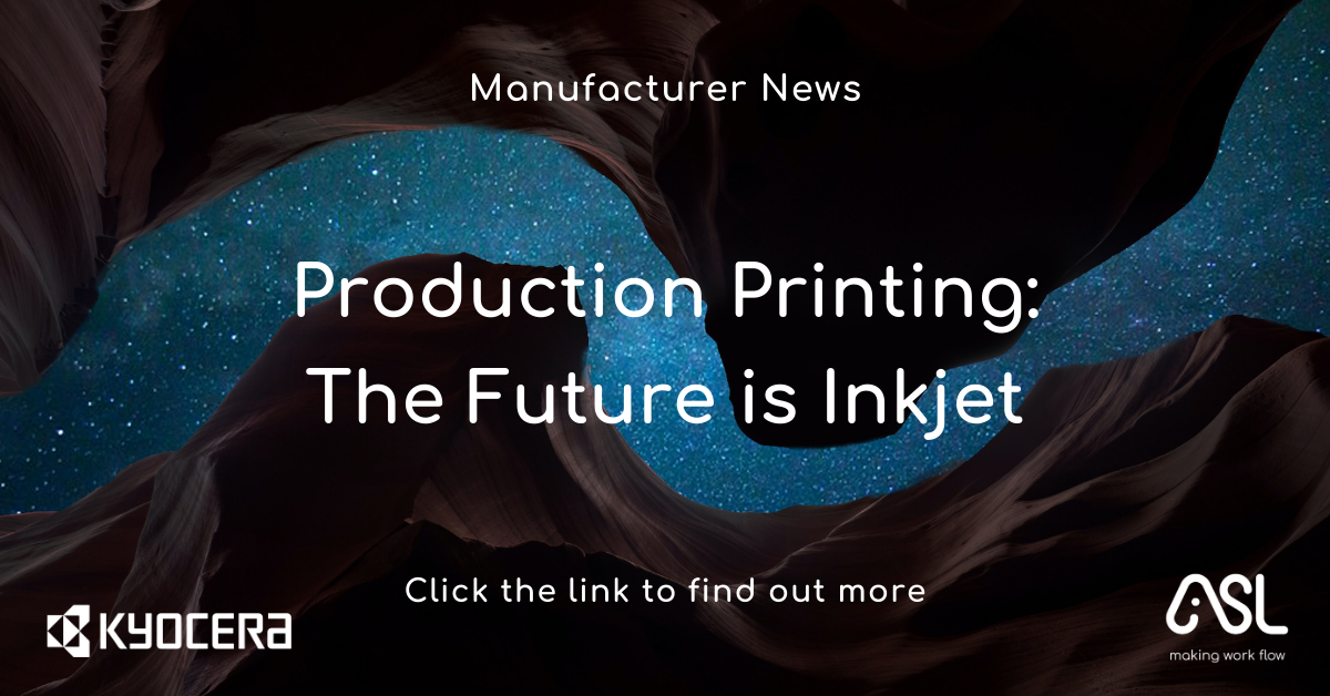Production Printing The Future is Inkjet