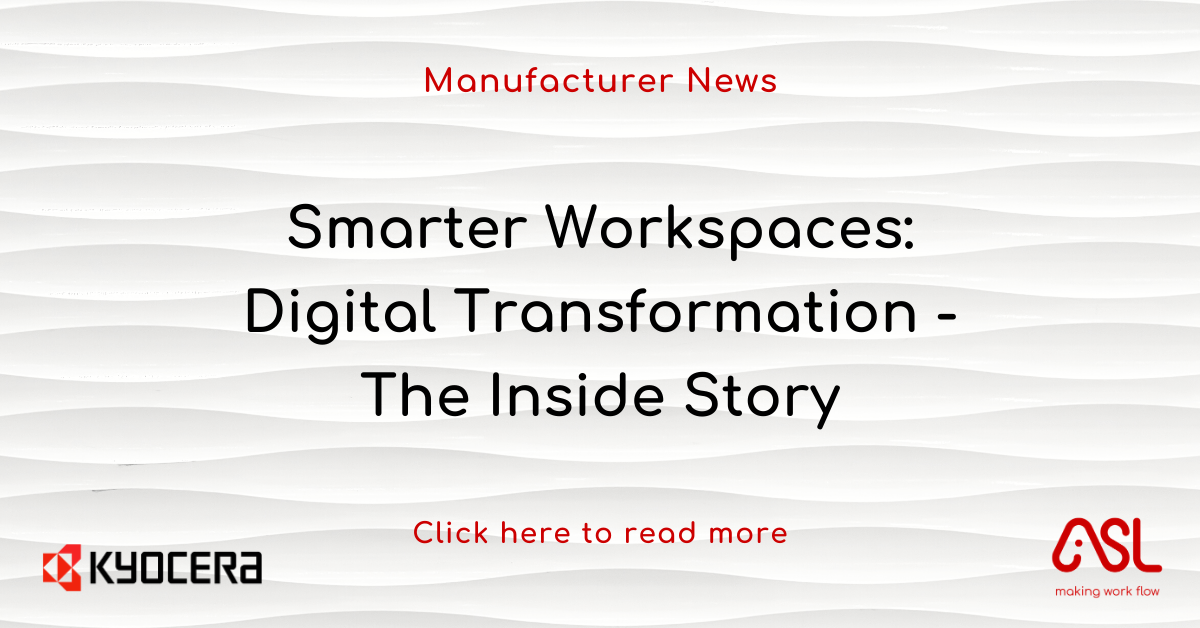 Smarter Workspaces Digital Transformation - The Inside Story