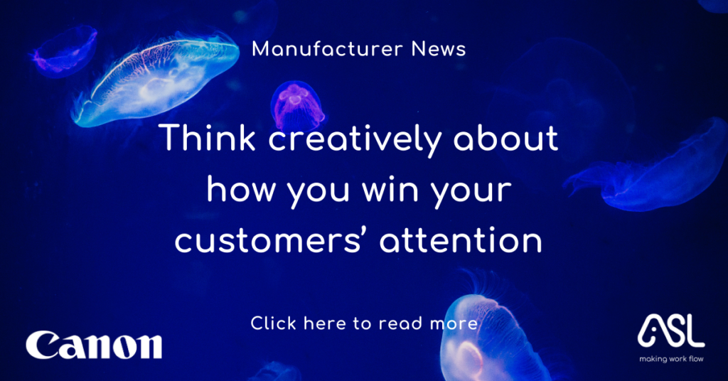 Think creatively about how you win your customers' attention